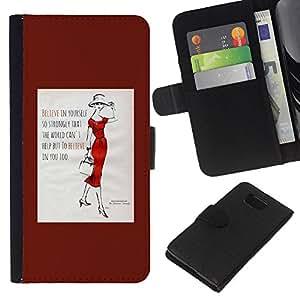 KLONGSHOP // Tirón de la caja Cartera de cuero con ranuras para tarjetas - Cita Moda Minimalista Señora de tendencia del cartel - Samsung ALPHA G850 //