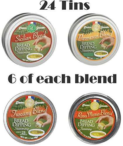 Dean Jacob's Bread Dipping Tin Collection ~ 24 Tins by Dean Jacob's
