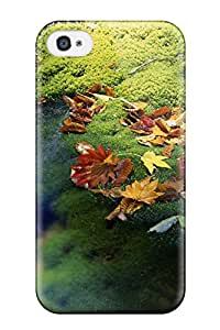 Cleora S. Shelton's Shop Cute Tpu Leaf Case Cover For Iphone 4/4s