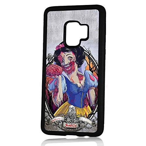 (( For Samsung Galaxy S9+ / S9 Plus ) Durable Protective Soft Back Case Phone Cover - HOT10304 Zombie Snow)