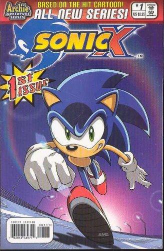 Download Sonic X #1 pdf