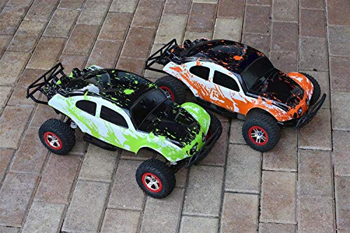 SummitLink 2pk Combo Set Compatible Custom Body Muddy Orange Over White/Black Green Over White/Black Replacement for 1/10 Scale RC Car or Truck (Truck not Included) SSB-WBRG-02 (Best Hobbies For Ssb)
