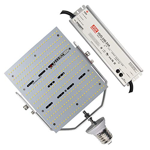 240W LED Retrofit Kit Parking Lot Fixture 347 Volt 480 Volt E39 Mogul Base Replace 1500Watt Metal Halide/HPS/HID Outdoor Pole Light, Daylight White Tennis Court Lights (480Volt (AC185-528V))