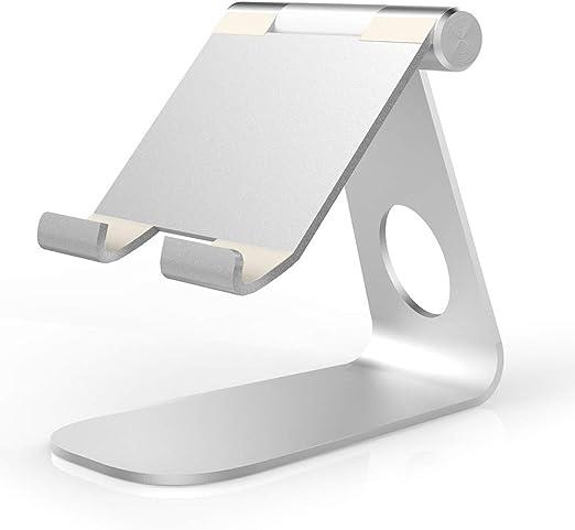 Soportes de sobremesa, doble mesa de soporte de aluminio y todo el ...