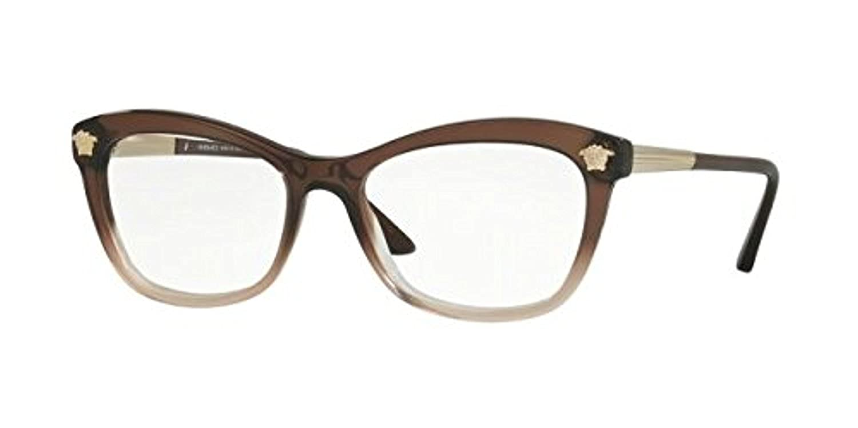 036b9046541 Amazon.com  Versace VE3224 Eyeglass Frames 5165-54 - Brown Transp lilac  Transp VE3224-5165-54  Clothing