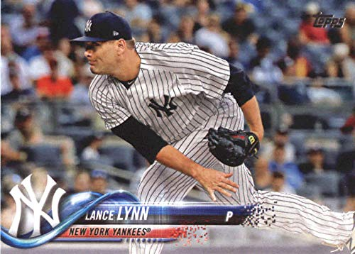 2018 Topps Update and Highlights Baseball Series #US258 Lance Lynn New York Yankees Official MLB Trading Card