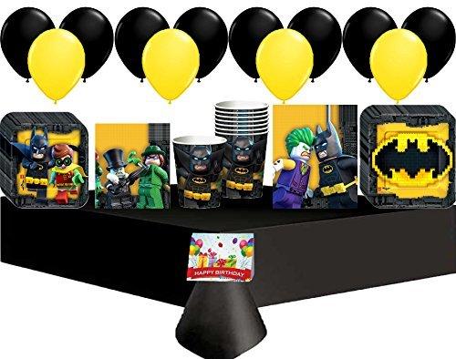 Lego Batman Movie Deluxe Party Pack Bundle]()
