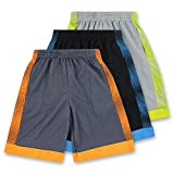 American Legend Mens Athletic Polyester Shorts - Dots 3 Pack - Set 2, S