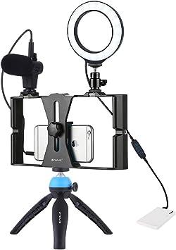 Accesorios para la cámara 4 en 1 Vlogging Live Broadcast ...