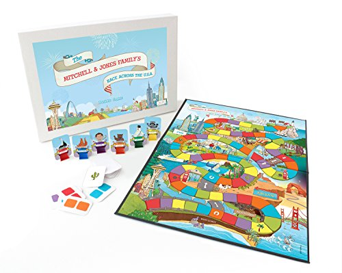 Personalized Board Game for Family Game - Personalized Board Game