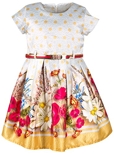 Lilax Little Girls Floral Pleated product image