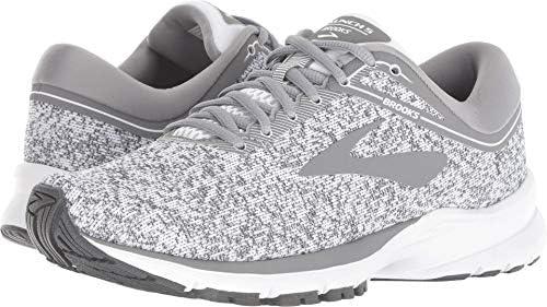 4352363f27 Brooks Women's Launch 5 White/Grey/Ebony 7 B US B (M): Amazon.in: Shoes &  Handbags