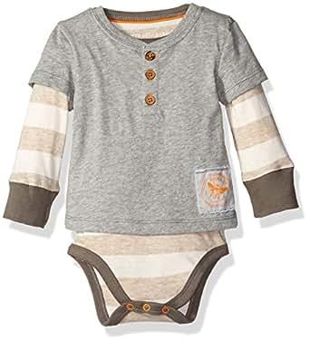 Amazon Com Burt S Bees Baby Baby Boy S Long Sleeve One
