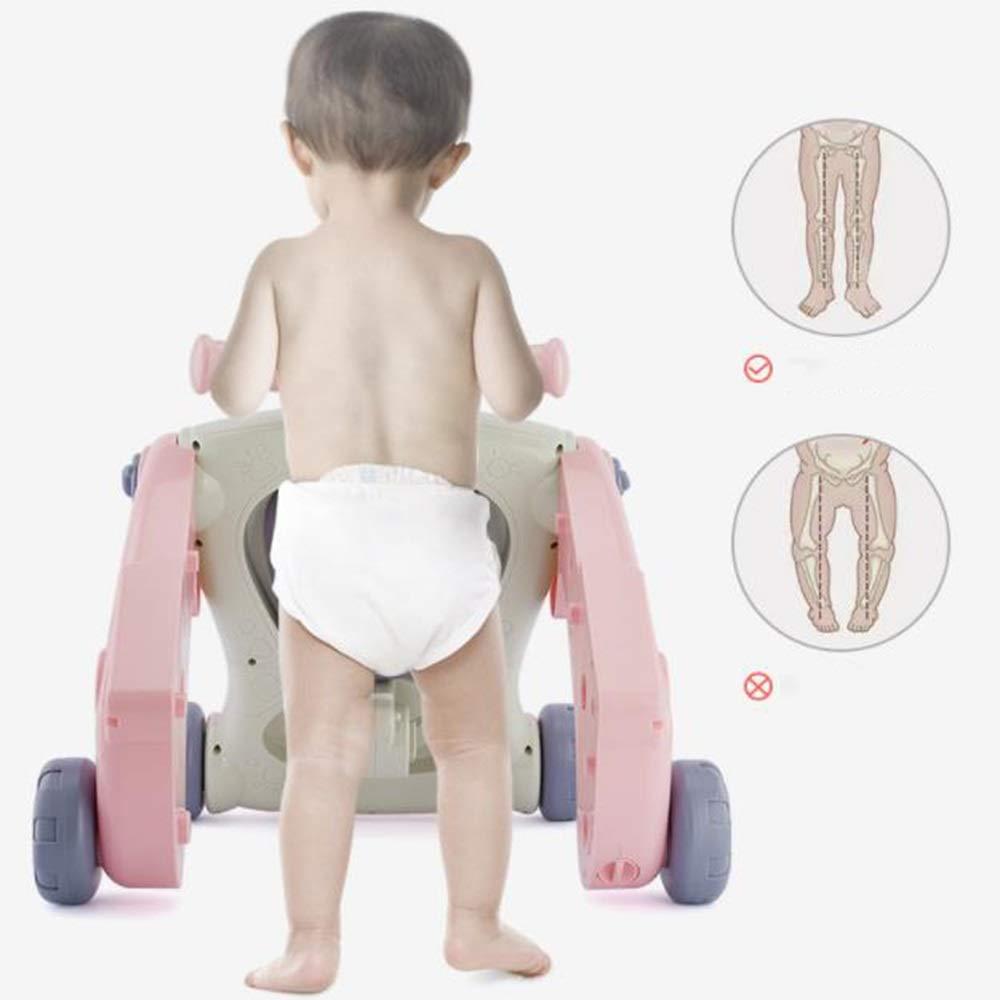 LMSTC Andador para bebés, trolley, andador tres en uno, andador de ...