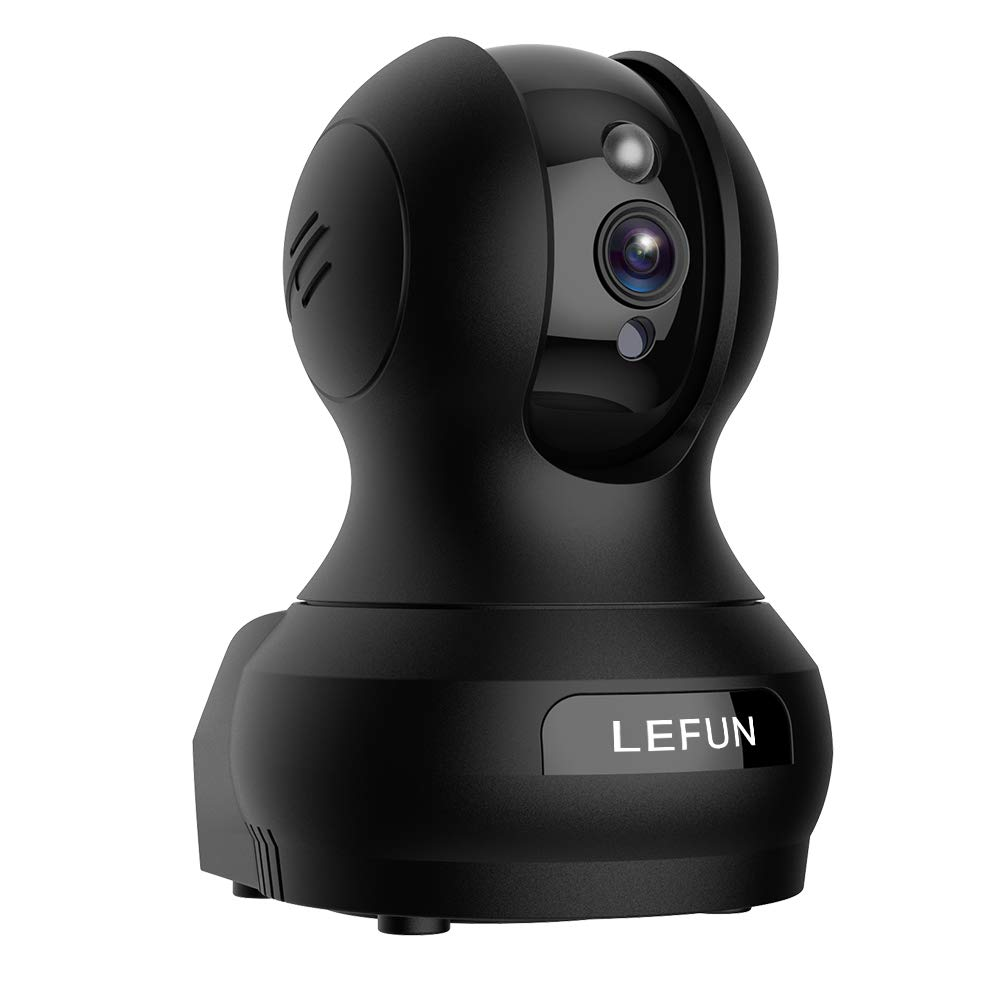 Pet Camera, Lefun 1080P Wireless Security Camera with Sound Detect Motion Tracking Two Way Audio Updated Cloud Surveillance Camera Supports 2.4G WiFi Night Vision Remote View for Home Baby Dog Monitor by Lefun