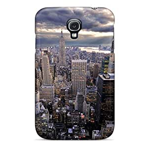 linJUN FENGCute Appearance Cover/tpu RbnCLOy8870zBEPS New York City Case For Galaxy S4