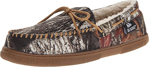 Camouflage Men's Moccasin Slippers made our list of camping gifts couples will love and great gifts for couples who camp