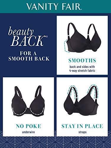 Vanity Fair Women's Beauty Back Full Underwire Bra Figure