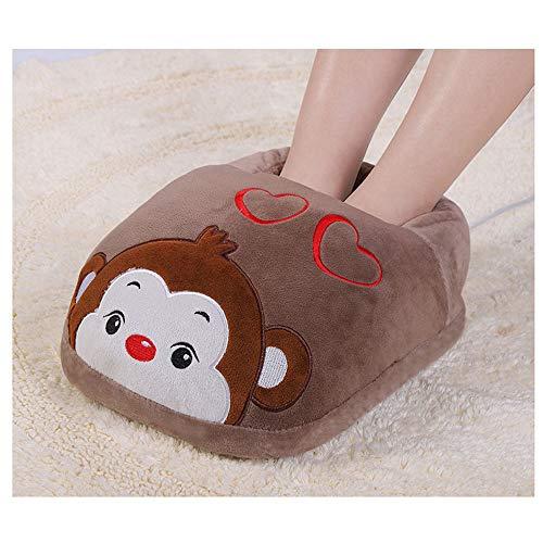 Con Plug Carga De E Zouqilai Calefacción Sueño Calzado in Artefacto color Cama Pie Zapatos Pies Calentador Cálidos Caliente Invierno Para Botas H 5I0wxqz0