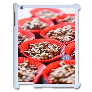 3d Beautiful Chocolate Cake Ipad 2 3 4 2d Cases Cute Amazon Co Uk