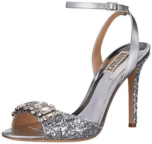 Badgley Mischka Amanda II de la mujer vestido sandalia SilGLt