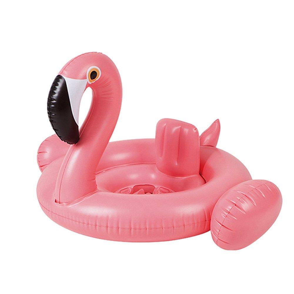 YONG-SHENG-MIN Anillo de Natación Flamingo Flotador de la Piscina del bebé, Balsas inflables Anillo de Natación Juguetes de la Piscina para Niños: ...
