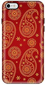 Stylizedd Apple iPhone 6 Plus Premium Dual Layer Tough case cover Gloss Finish - Indian Bride I6P-T-5