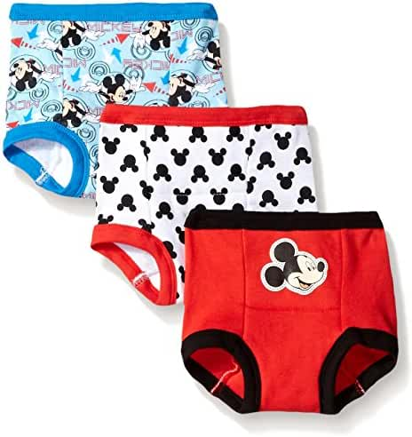 Disney Baby-Boys' Mickey 3 Pack Training Pant