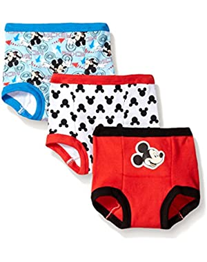 Disney Baby-Boys' Mickey 3 Pack Training Pant