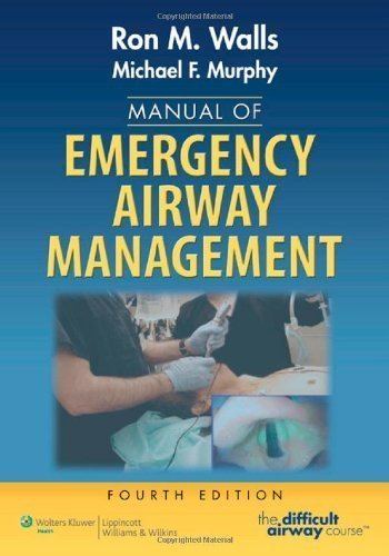 Manual of Emergency Airway Management by Ron Walls MD (April 2 - Us Shopping Airways