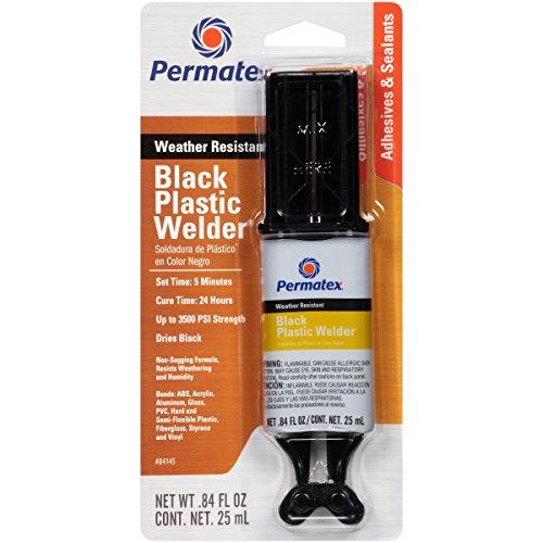 Permatex 84145 Permapoxy Black Plastic Weld - 0.84 fl. oz. - Loctite Plastic Epoxy