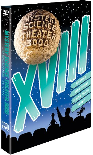 Mystery Science Theater 3000, Vol. XVIII (Lost Continent / Crash of the Moons / The Beast of Yucca Flats / Jack Frost) (Mystery Blue Mountain Dvd)