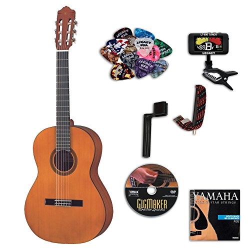 Yamaha CGS103AII Classical Guitar Bundle