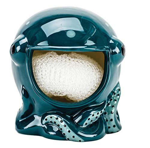 Blue Warehouse - Boston Warehouse Blue Octopus Scrubby Holder Scrubby or Bar Soap Holder