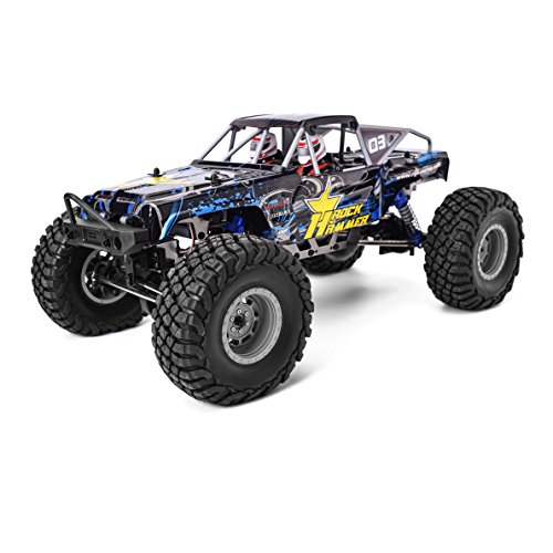 RGT 1/10 Scale RC Crawlers Electric 4wd Off Road Waterproof Climbing Truck, Rock Crawler RTR Racing RR-4 (Rc Crawler)