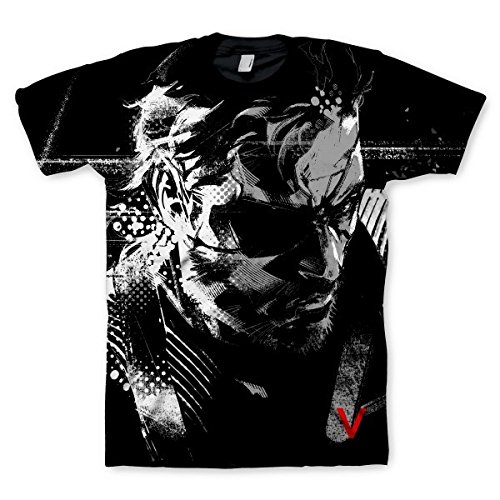 Metal Gear Solid V Ground Zeroes T Shirt Big Boss Premium Sublimation