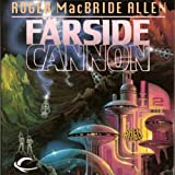 Front cover for the book Farside Cannon by Roger MacBride Allen