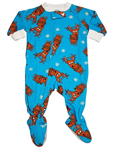 Saras Prints Baby Footed Pajama