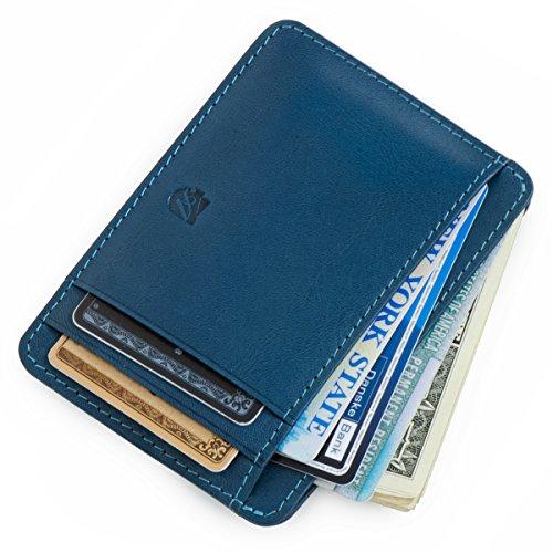 Wallet Front wallet Minimalist Pocket RFID Men's Wallet Wallet Wallet ID qXxfwa6X