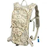 BNFUSA LUH20DC 2qt Digital Camouflage Hydration Pack With Padded Back & Straps