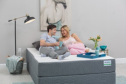 Ghostbed Boxspring Knockdown Foundation - Full 9 Inch Foundation - 100% Solid Wood - Easy to Assemble Foundation - Compatible with Any Mattress - Made in The USA - Industry Leading 3 Year Warranty