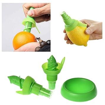 Compra Deanyi 1pc limón rociador de Cocina Gadgets del Zumo de Naranja Citrus Spray de Herramientas Manual Juicer de la Fruta limón exprimidor de Cocina en ...
