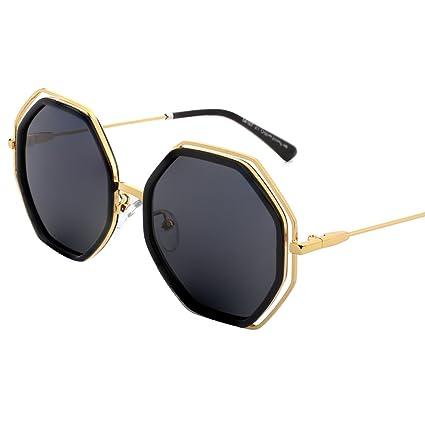 Gafas de sol BSNOWF Polarizadas Para Mujer Gafas Retro Gafas Marco Gafas Correr Ciclismo Camping (
