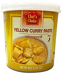 Chef\'s Choice Yellow Curry Paste 400g