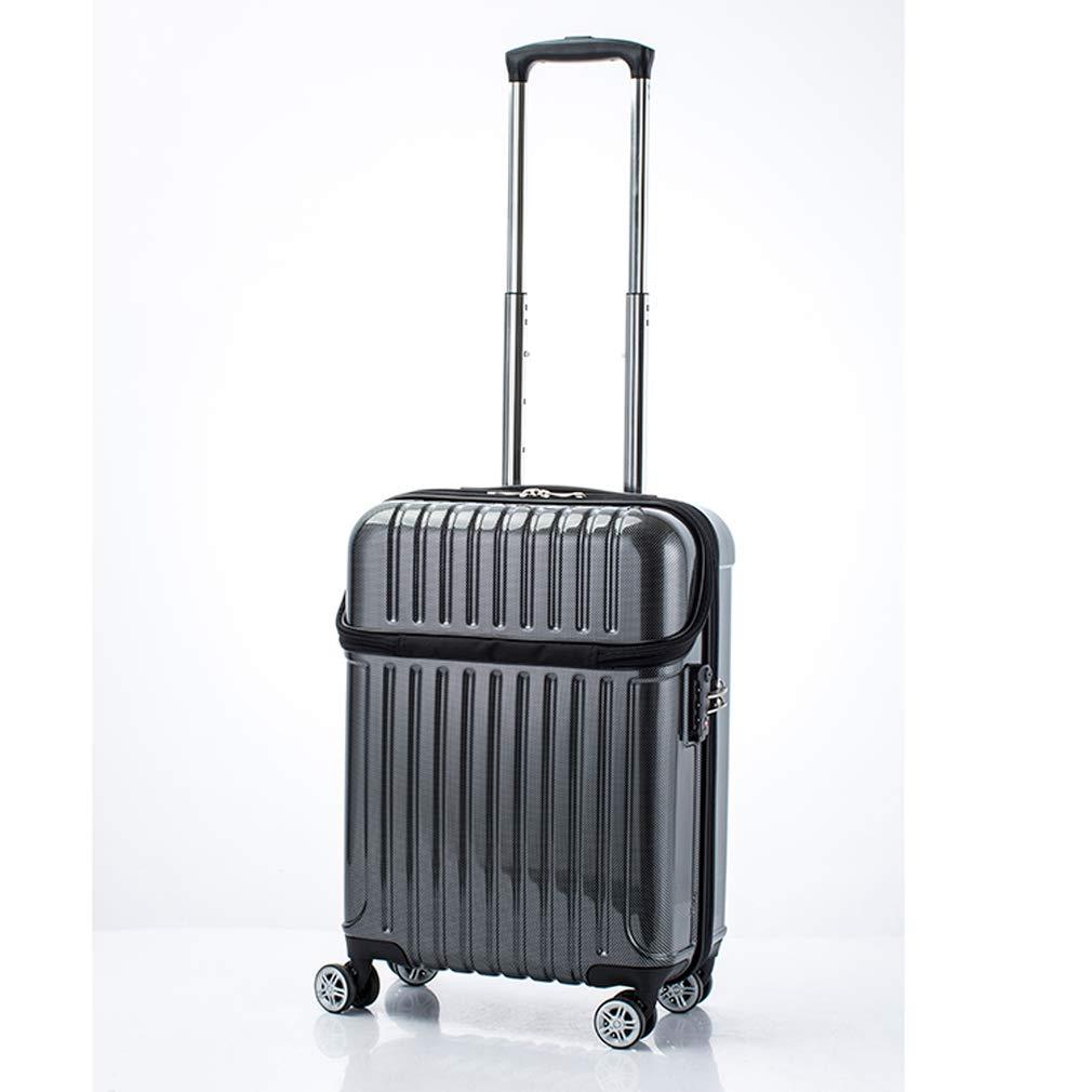 アクタス トップオープン ジッパーハード 33L スーツケース 74-20311 ブラックカーボン 【代引き不可】[bg]   B07KHR34JR