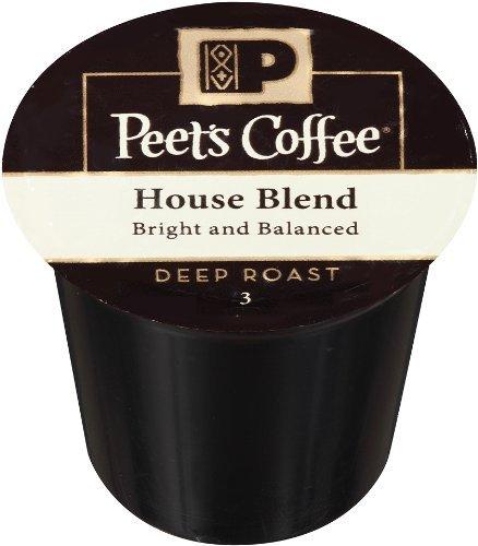 Peet's Coffee House Blend Single Cup Capsule (96 Count, 0.47OZ EA)
