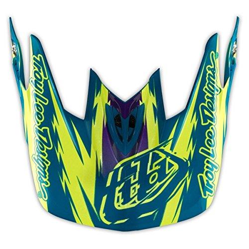 Turquoise Motorcycle Helmet - 6
