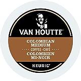 Van Houtte Colombian Medium Single Serve Keurig Certified K-Cup pods for Keurig brewers, 30 Count