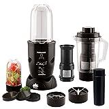 BMS Lifestyle 400-Watt High-Speed Blender Mixer Grinder And Juicer with 3 Jar (Black)