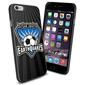 diy zhengSoccer MLS SAN JOSE EARTHQUAKES SOCCER CLUB FOOTBALL FC Logo , Cool Ipod Touch 5 5th Smartphone Case Cover Collector iphone TPU Rubber Case Black